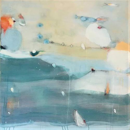 Susann Kasten-Jerke, Alles ist Reise, Abstract art, Fantasy, Abstract Art, Expressionism