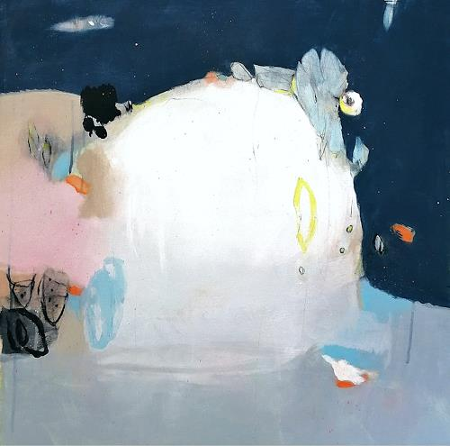 Susann Kasten-Jerke, TraumZauberisch, Abstract art, Fantasy, Abstract Art, Expressionism