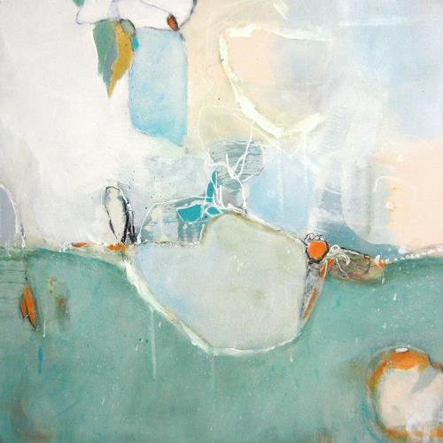 Susann Kasten-Jerke, Ich streife dich..., Abstract art, Fantasy, Abstract Art