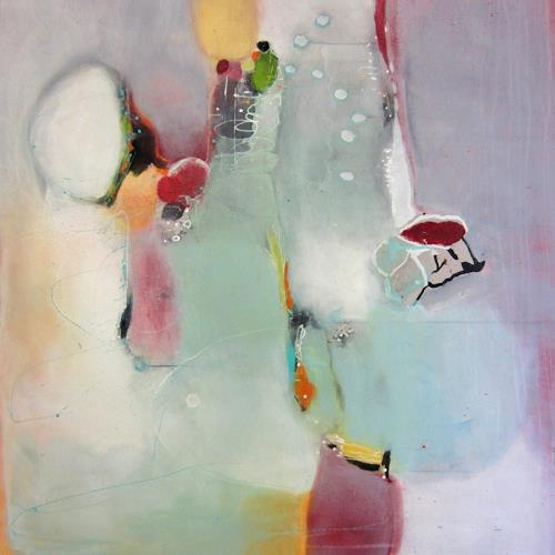 Susann Kasten-Jerke, VielleichtMorgen, Abstract art, Fantasy, Abstract Art, Expressionism