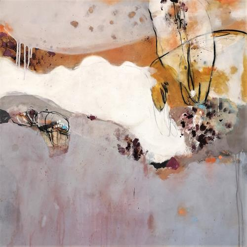 Susann Kasten-Jerke, Nothing specific ... has moved, Abstract art, Fantasy, Abstract Art, Expressionism