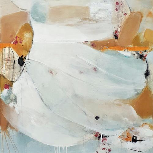 Susann Kasten-Jerke, Keep up the sweet lightness..., Abstract art, Fantasy, Abstract Art, Expressionism