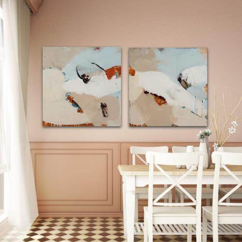 Susann Kasten-Jerke, VintageDreams I&II, Abstract art, Fantasy, Abstract Art
