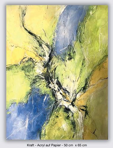 Rita Simon-Reinecke, Kraft, Abstract art, Abstract Art