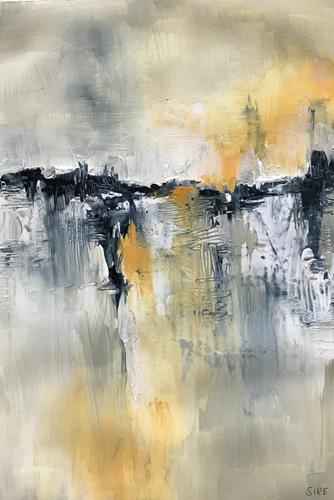 Rita Simon-Reinecke, Ferne Ufer, Abstract art, Abstract Art