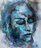 Rita-Simon-Reinecke-People-Women-People-Modern-Age-Abstract-Art