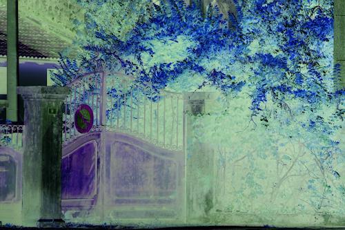 Eva-Caroline Dornach, Geheimnis, Poetry, Interiors: Gardens, Contemporary Art