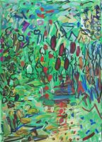 Yuriy-Samsonov-Abstract-art-Landscapes-Modern-Age-Expressionism-Abstract-Expressionism