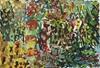 Yuriy Samsonov, Moral. Unvollendete Malerei., Abstract art, Landscapes, Expressionism