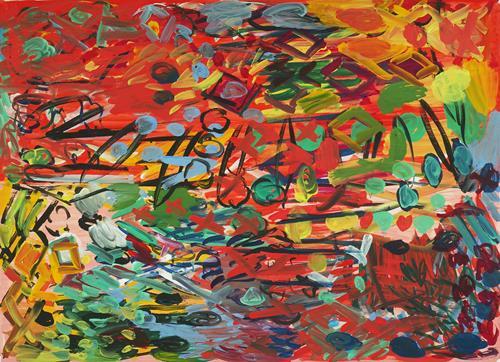 Yuriy Samsonov, Fehler machen., Abstract art, Landscapes, Abstract Expressionism