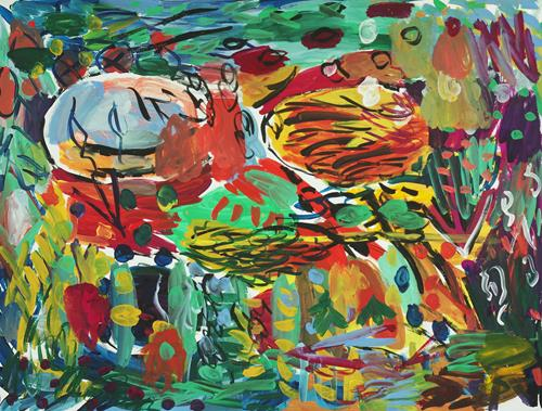 Yuriy Samsonov, In Sisim., Abstract art, Landscapes, Abstract Expressionism