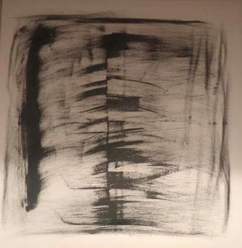A Lee Brown, Rückgrat, Abstract art, Abstract Art