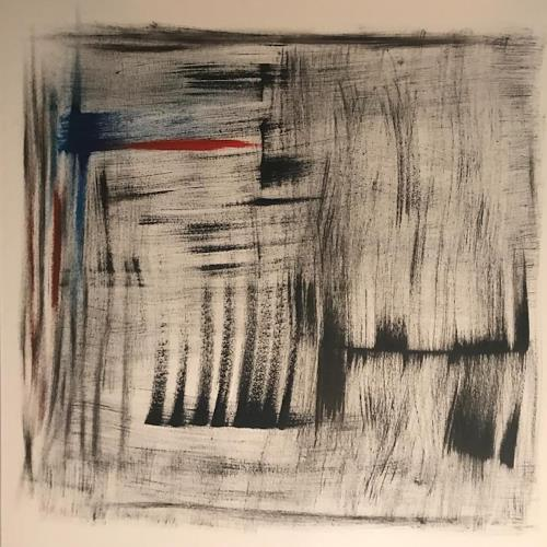A Lee Brown, In der Ecke, Abstract art, Abstract Art