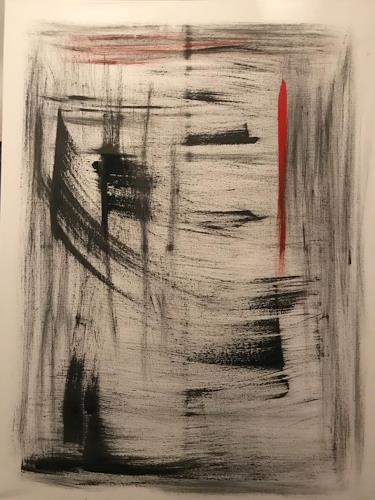 A Lee Brown, Pagoden, Abstract art, Abstract Art