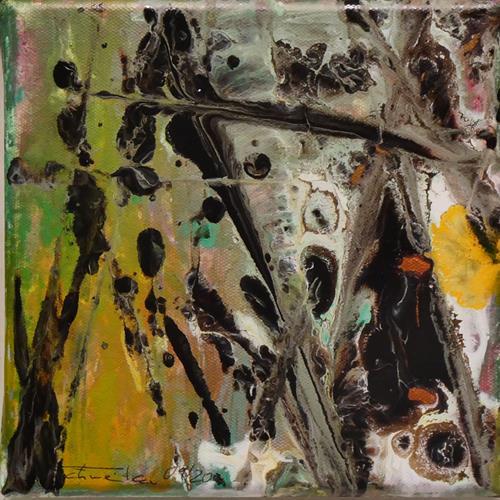 Uli Schweitzer, Herbstzeit, Landscapes: Autumn, Harvest, Abstract Expressionism