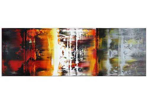 Thomas Stephan, Grenzgänge, Abstract art, Society, Abstract Expressionism