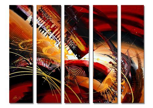 Thomas Stephan, Papagos, Abstract art, Animals, Abstract Expressionism
