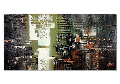 Thomas Stephan, Free V, Abstract art, Emotions, Abstract Expressionism