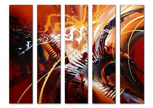 Thomas Stephan, Sambalitta II, Abstract art, Fantasy, Abstract Expressionism