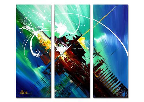 Thomas Stephan, Osiris, Abstract art, Mythology, Abstract Expressionism