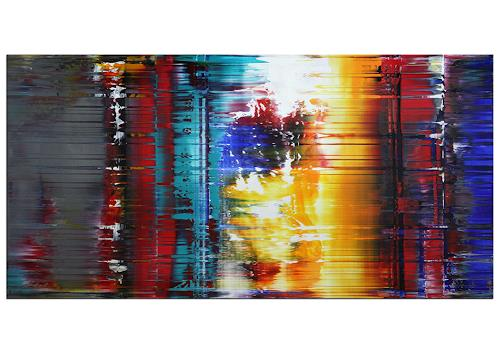 Thomas Stephan, Gedachtes Erleben, Abstract art, Fantasy, Abstract Expressionism