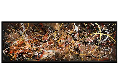 Thomas Stephan, Kosmischer Besuch, Abstract art, Outer space, Abstract Expressionism
