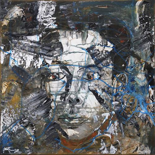 Andreas Garbe, I'm real, People: Men, People: Portraits, Expressive Realism