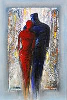 Andreas-Garbe-People-Couples-Emotions-Love-Modern-Age-Expressionism-Neo-Expressionism