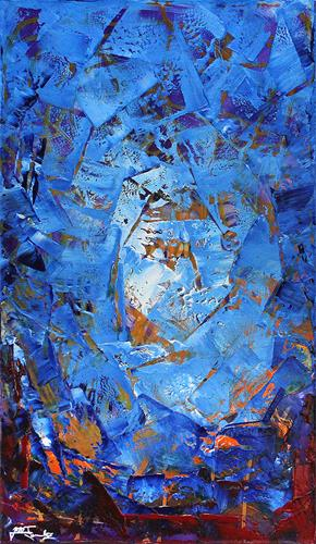 Andreas Garbe, Gegensätze I, Abstract art, Fantasy, Abstract Expressionism