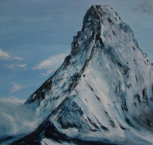 Urs Brandenburg, Matterhorn, Landscapes: Mountains, Contemporary Art, Expressionism