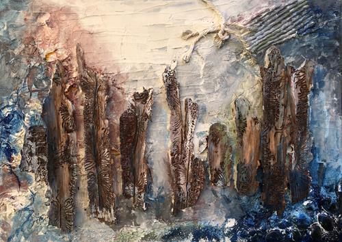 Ruth Loewenkamp, Meeresgrund, Landscapes: Sea/Ocean, Nature: Water, Abstract Art