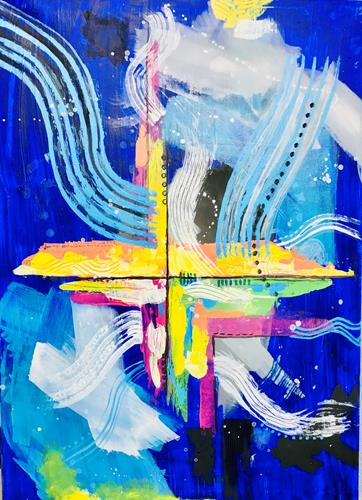 Ruth Loewenkamp, Auferstehung, Religion, Abstract art, Abstract Art