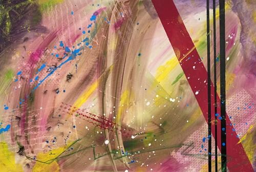 Ruth Loewenkamp, oT, Abstract art, Fantasy, Abstract Art, Expressionism