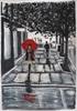 Marie Ruda, Das Mädchen mit dem roten Regenschirm.