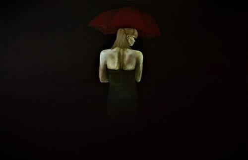 Gennady, Einsam gehen, Emotions: Love, Abstract Art, Abstract Expressionism