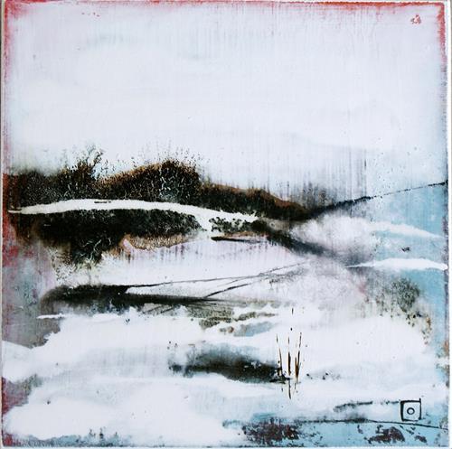 Silvia Plüss, N/T, Landscapes: Winter, Abstract Art