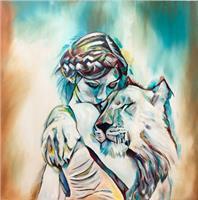 Sabrina-Seck-1-Animals-Land-People-Women-Contemporary-Art-Contemporary-Art