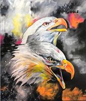 Sabrina-Seck-1-Abstract-art-Animals-Air-Modern-Age-Expressionism-Abstract-Expressionism