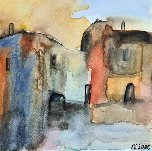 Peter Seiler, Tuscany village, Miscellaneous Landscapes, Interiors: Cities, Modern Times