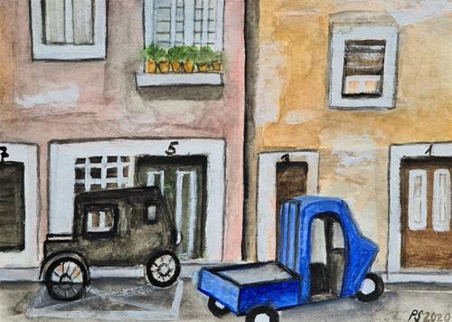 Peter Seiler, Strada in Firenze, Situations, Modern Age
