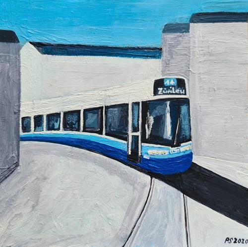 Peter Seiler, Flexity Tram Zürich, Traffic: Railway, Modern Age