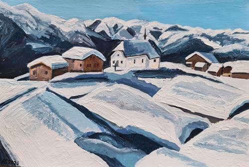 Peter Seiler, Bettmeralp VS Switzerland, Landscapes: Mountains, Modern Times