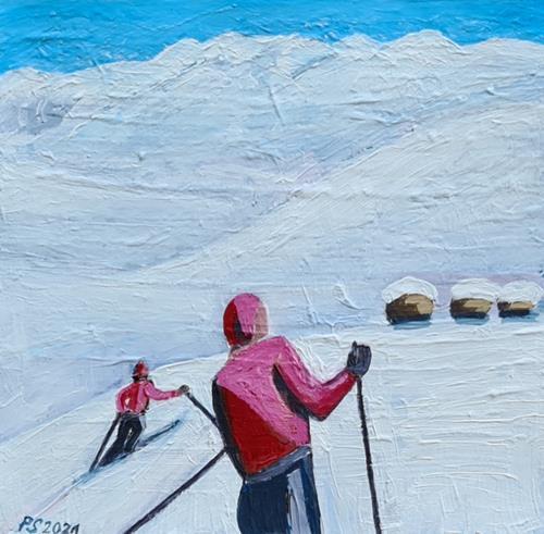 Peter Seiler, Skifahren in den 1950ern, Miscellaneous People, Sports, Modern Age