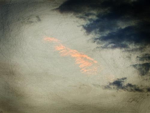 Andrea Kasper, Es ist ein Tütchen Rosa Wolke geplatzt, Landscapes, Nature, Minimal Art, Expressionism
