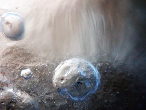 Andrea Kasper, Von links nach nirgendwo schweben..., Abstract art, Nature: Water, Contemporary Art
