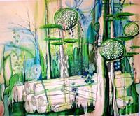 Vera-Weber-Nature-Wood-Fantasy-Modern-Age-Expressionism
