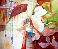 Vera-Weber-Miscellaneous-Plants-Fantasy-Modern-Age-Expressionism-Abstract-Expressionism
