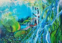 Vera-Weber-Nature-Water-Fantasy-Modern-Age-Expressive-Realism