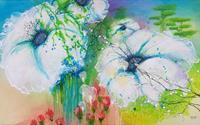 Vera-Weber-Plants-Flowers-Fantasy-Modern-Age-Expressive-Realism