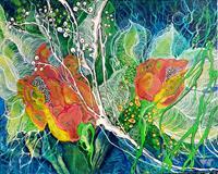 Vera-Weber-Plants-Flowers-Emotions-Joy-Modern-Age-Expressive-Realism